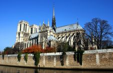 Free Notre Dame Royalty Free Stock Image - 3874186