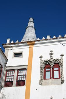 Free Detail Of The National Palace In Sintra Royalty Free Stock Photos - 3874318