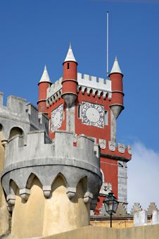 Free Detail Of A Reinassance Castle Stock Photo - 3874360