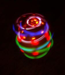 Rotary Light Stock Photo