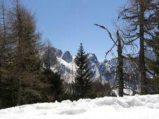 Free Winter Mountains Stock Image - 3875221