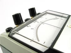 Free Old Analog Measuring Instrument Royalty Free Stock Photos - 3875858