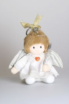 Angel Doll Stock Photo