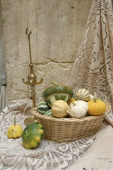 Free Decorative Pumpkins Royalty Free Stock Image - 3876586