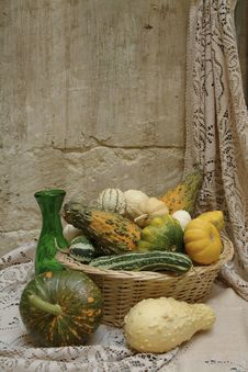 Free Decorative Pumpkins Royalty Free Stock Image - 3876616