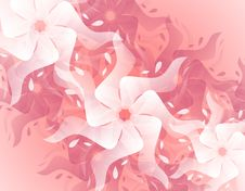 Free Abstract Pink Splash Flower Background Stock Image - 3877471