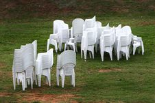 Free Chairs After Party Royalty Free Stock Image - 3877666