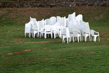 Free Chairs After Party Royalty Free Stock Images - 3877669