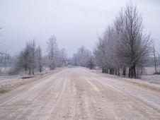 Free Winter Road Stock Photos - 3877823