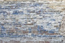 Free Old Textured Brick Wall Royalty Free Stock Images - 3878199