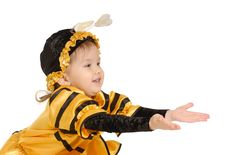 Free The Little Girl Stock Photography - 3879512