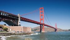 Free Golden Gate Royalty Free Stock Photos - 3879548