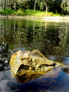 Free River Rock Royalty Free Stock Photos - 3885198