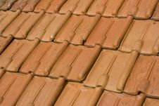 Free Tile Roof On A French Residence Stock Photo - 3880060