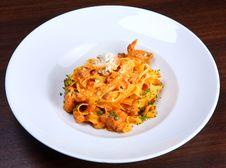 Free Italian Pasta Plate Royalty Free Stock Photography - 3880327