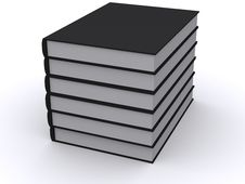 Stack Of Black Books