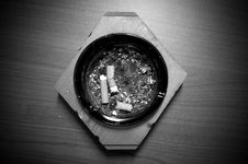 Ash Tray Royalty Free Stock Photography