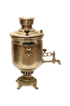 Free Old Russian Samovar Royalty Free Stock Photos - 3881008