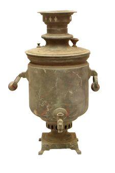 Free Old Russian Samovar Stock Image - 3881021