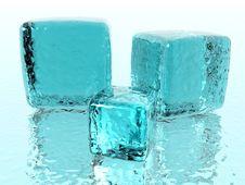 Free Ice Cubes Royalty Free Stock Photos - 3881678