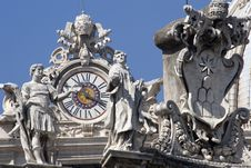 Free Detail From Cathedral St. Peter In Rome Royalty Free Stock Photography - 3882037