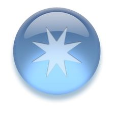Free Aqua Icon Stock Image - 3882041