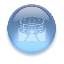 Free Aqua Icon Stock Image - 3882371