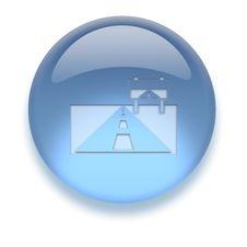 Free Aqua Icon Stock Image - 3882401