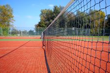 Free Tennis Court Royalty Free Stock Photography - 3882567