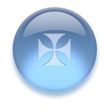Free Aqua Icon Stock Image - 3882971