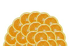 Free A Slice Of Orange Stock Image - 3883211
