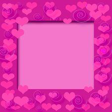 Free Valentine Frame Stock Photography - 3883222