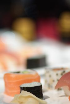 Free Sushi Royalty Free Stock Photography - 3884577