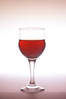 Red Goblet Stock Images