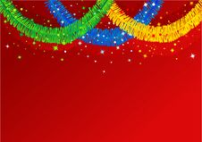 Free Abstract Christmas Background Royalty Free Stock Photo - 3886115