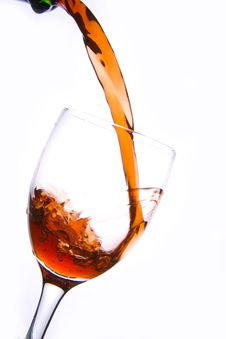 Free Pouring Red Wine Royalty Free Stock Photos - 3887238