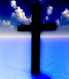 Free The Cross In Daytime Water 6 Stock Images - 3887254