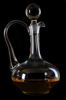 Free Decanter Royalty Free Stock Photo - 3887765