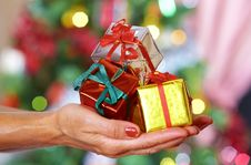 Free Gifts Stock Image - 3887791