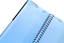Free Spiral Notebook Stock Image - 3888321