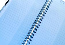 Free Spiral Bound Notebook Royalty Free Stock Image - 3888326