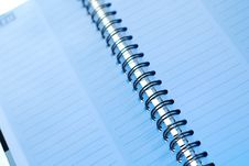 Free Spiral Bound Notebook Stock Photography - 3888382