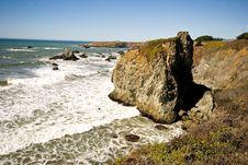 Free Rocky California Coast Royalty Free Stock Photos - 3889438