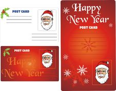 Free Santa Greetings Card Stock Photo - 3889580
