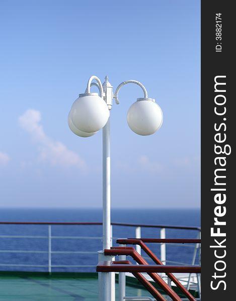 Cruise ship desk
