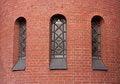 Free Three Narrow Arch Window Royalty Free Stock Photos - 38840028
