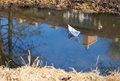 Free Paper Boat Floating In The Creek Royalty Free Stock Photo - 38842595