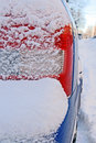 Free Car Bumper Covered By Snow Royalty Free Stock Photos - 3892088