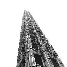 Futuristic Skyscraper Stock Photos