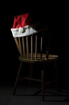 Free Christmas Chair Stock Image - 3890891